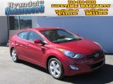 2013 Red Hyundai Elantra GLS #86158117