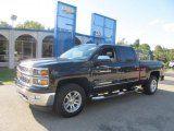 2014 Black Chevrolet Silverado 1500 LTZ Crew Cab 4x4 #86206721