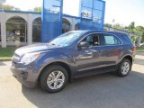2014 Atlantis Blue Metallic Chevrolet Equinox LS AWD #86206720