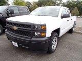 2014 Summit White Chevrolet Silverado 1500 WT Double Cab #86206475