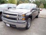 2014 Tungsten Metallic Chevrolet Silverado 1500 WT Crew Cab #86206470