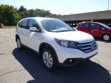 2014 White Diamond Pearl Honda CR-V EX AWD #86207120