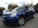 2010 Navy Blue Metallic Chevrolet Equinox LS #86206802