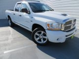 2006 Bright White Dodge Ram 1500 Laramie Quad Cab #86206905