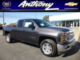 2014 Tungsten Metallic Chevrolet Silverado 1500 LT Double Cab 4x4 #86207198