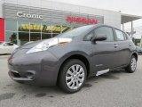 2013 Metallic Slate Nissan LEAF S #86206974