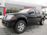2013 Super Black Nissan Frontier SV V6 Crew Cab #86206970
