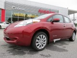2013 Cayenne Red Nissan LEAF S #86206969