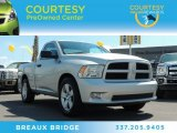 2012 Bright Silver Metallic Dodge Ram 1500 Express Regular Cab #86207165