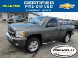 2011 Taupe Gray Metallic Chevrolet Silverado 1500 LT Regular Cab 4x4 #86207052