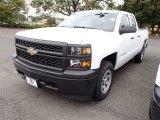 2014 Summit White Chevrolet Silverado 1500 WT Double Cab 4x4 #86206533