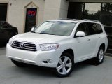2010 Blizzard White Pearl Toyota Highlander Limited #86206862