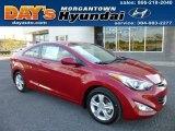 2013 Red Hyundai Elantra Coupe GS #86260758