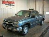 2006 Blue Granite Metallic Chevrolet Silverado 1500 Z71 Extended Cab 4x4 #86260793