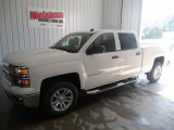 2014 Summit White Chevrolet Silverado 1500 LT Crew Cab 4x4 #86260787
