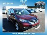 2012 Basque Red Pearl II Honda CR-V EX-L 4WD #86260751