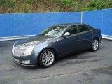 2009 Thunder Gray ChromaFlair Cadillac CTS 4 AWD Sedan #8596613