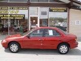 1999 Cayenne Red Metallic Chevrolet Cavalier Sedan #8592757