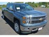 2014 Blue Granite Metallic Chevrolet Silverado 1500 LT Z71 Crew Cab 4x4 #86260701