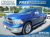 2011 Deep Water Blue Pearl Dodge Ram 1500 Lone Star Crew Cab #86260739