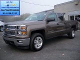 2014 Brownstone Metallic Chevrolet Silverado 1500 LT Double Cab 4x4 #86260539