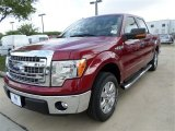 2013 Ruby Red Metallic Ford F150 XLT SuperCrew #86280441