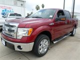 2013 Ruby Red Metallic Ford F150 XLT SuperCrew #86280439