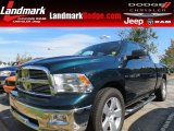 2011 Hunter Green Pearl Dodge Ram 1500 Big Horn Quad Cab #86283791