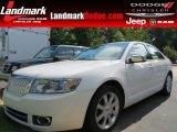 2008 White Suede Lincoln MKZ Sedan #86283786