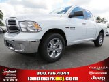 2014 Bright White Ram 1500 Big Horn Crew Cab #86283781