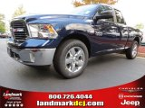 2014 True Blue Pearl Coat Ram 1500 Big Horn Quad Cab #86283775
