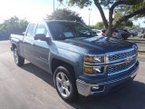 2014 Blue Granite Metallic Chevrolet Silverado 1500 LT Double Cab #86284061