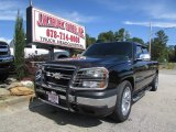 Black Chevrolet Silverado 1500 in 2006