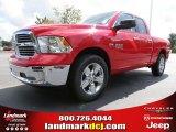 2014 Flame Red Ram 1500 Big Horn Quad Cab #86283773