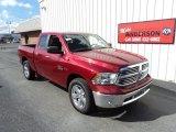 2014 Deep Cherry Red Crystal Pearl Ram 1500 Big Horn Quad Cab 4x4 #86284053