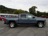 2014 Blue Granite Metallic Chevrolet Silverado 1500 LT Z71 Crew Cab 4x4 #86283722