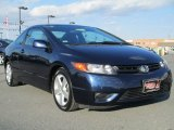 2007 Royal Blue Pearl Honda Civic EX Coupe #86283887
