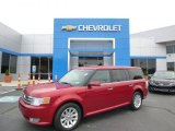 2010 Red Candy Metallic Ford Flex SEL #86283830