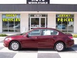 2011 Basque Red Pearl Honda Accord LX Sedan #86283881