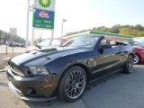 2011 Ebony Black Ford Mustang Shelby GT500 SVT Performance Package Convertible #86314402