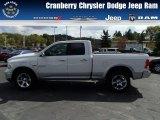 2014 Bright White Ram 1500 Laramie Quad Cab 4x4 #86314219
