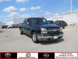 2005 Dark Blue Metallic Chevrolet Silverado 1500 LS Crew Cab #86314141