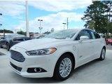 2013 White Platinum Metallic Tri-coat Ford Fusion Energi Titanium #86314215