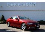 2013 Vermillion Red Metallic BMW 3 Series 335i Coupe #86314127