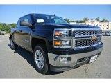 2014 Black Chevrolet Silverado 1500 LT Crew Cab 4x4 #86314453