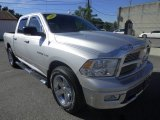 2010 Bright Silver Metallic Dodge Ram 1500 SLT Crew Cab 4x4 #86314616