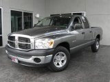 2008 Mineral Gray Metallic Dodge Ram 1500 SXT Quad Cab #8581123