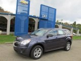 2014 Atlantis Blue Metallic Chevrolet Equinox LS AWD #86314193