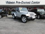 2012 Bright Silver Metallic Jeep Wrangler Sahara 4x4 #86314604