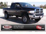 2004 Black Dodge Ram 1500 SLT Quad Cab 4x4 #86314274